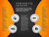 Circles and Financial Icons#13