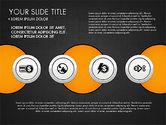 Circles and Financial Icons#16