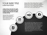 Circles and Financial Icons#4