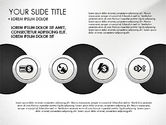 Circles and Financial Icons#8