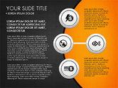 Circles and Financial Icons#9
