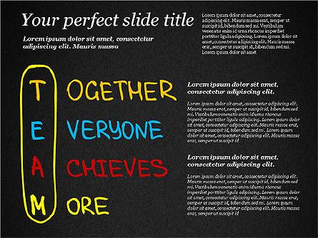 Motivation Quotes Presentation Template, Slide 10, 03218, Business Models — PoweredTemplate.com