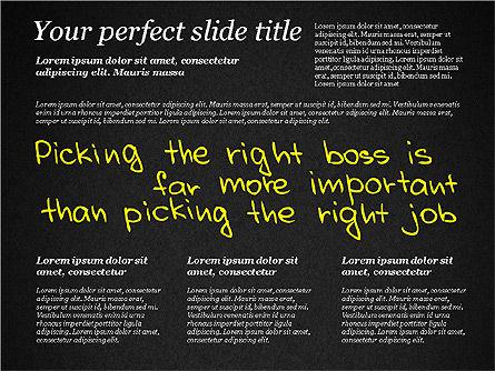 Motivation Quotes Presentation Template, Slide 11, 03218, Business Models — PoweredTemplate.com