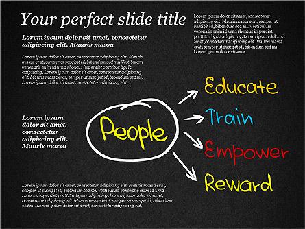 Motivation Quotes Presentation Template, Slide 13, 03218, Business Models — PoweredTemplate.com