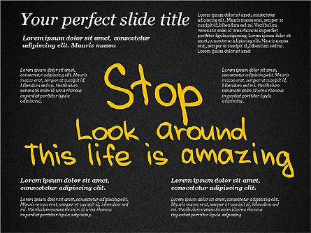 Motivation Quotes Presentation Template, Slide 14, 03218, Business Models — PoweredTemplate.com