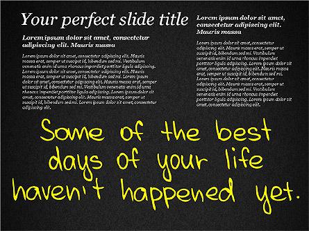 Motivation Quotes Presentation Template, Slide 16, 03218, Business Models — PoweredTemplate.com