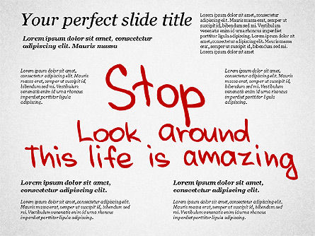 Motivation Quotes Presentation Template, Slide 6, 03218, Business Models — PoweredTemplate.com