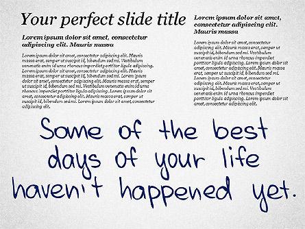 Motivation Quotes Presentation Template, Slide 8, 03218, Business Models — PoweredTemplate.com