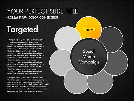 Social Media Campaign Stages, Slide 10, 03220, Stage Diagrams — PoweredTemplate.com