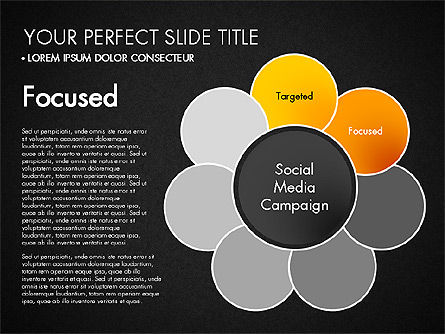 Social Media Campaign Stages, Slide 11, 03220, Stage Diagrams — PoweredTemplate.com