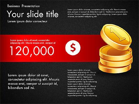 Financial Brief Infographics Deck, Slide 10, 03222, Infographics — PoweredTemplate.com