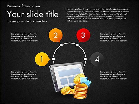 Financial Brief Infographics Deck, Slide 11, 03222, Infographics — PoweredTemplate.com