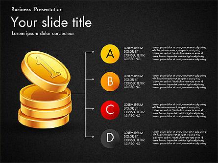 Financial Brief Infographics Deck, Slide 12, 03222, Infographics — PoweredTemplate.com
