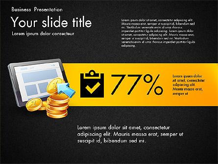 Financial Brief Infographics Deck, Slide 13, 03222, Infographics — PoweredTemplate.com