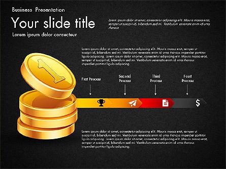 Financial Brief Infographics Deck, Slide 15, 03222, Infographics — PoweredTemplate.com