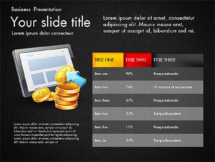 Financial Brief Infographics Deck, Slide 16, 03222, Infographics — PoweredTemplate.com