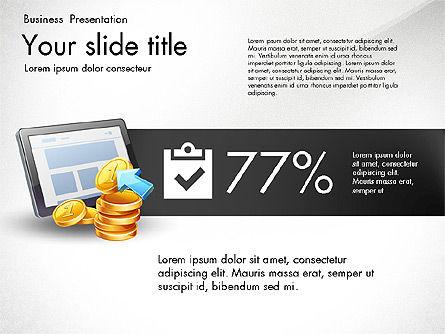 Financial Brief Infographics Deck, Slide 5, 03222, Infographics — PoweredTemplate.com