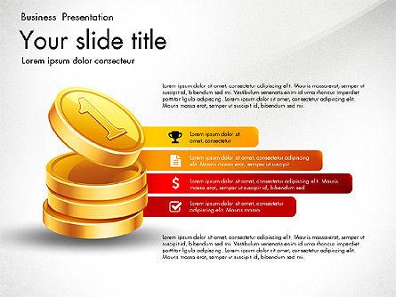 Financial Brief Infographics Deck, Slide 6, 03222, Infographics — PoweredTemplate.com