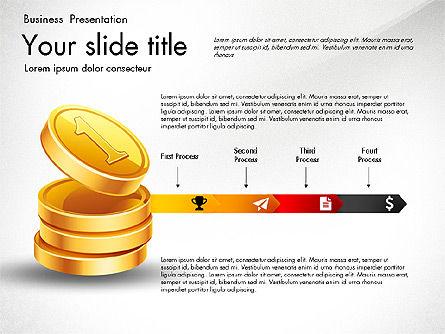 Financial Brief Infographics Deck, Slide 7, 03222, Infographics — PoweredTemplate.com