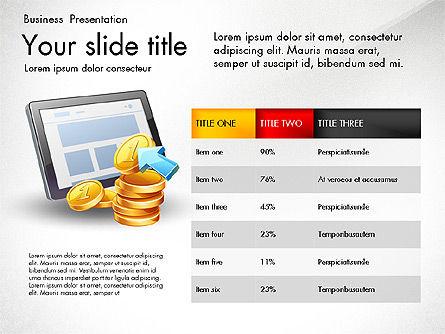 Financial Brief Infographics Deck, Slide 8, 03222, Infographics — PoweredTemplate.com