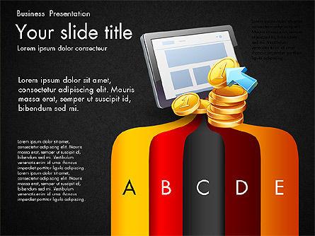 Financial Brief Infographics Deck, Slide 9, 03222, Infographics — PoweredTemplate.com
