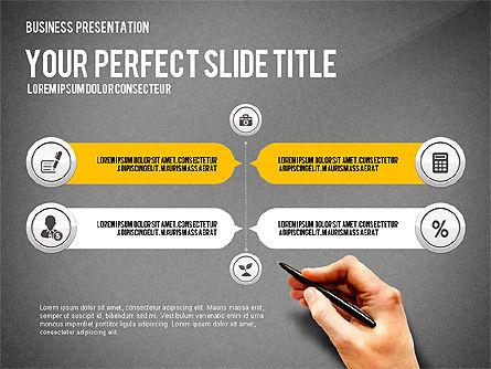 Presentation with Financial Icons, Slide 11, 03226, Presentation Templates — PoweredTemplate.com