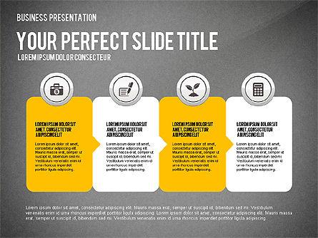 Presentation with Financial Icons, Slide 15, 03226, Presentation Templates — PoweredTemplate.com