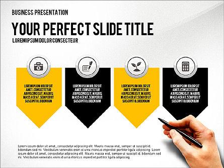 Presentation with Financial Icons, Slide 4, 03226, Presentation Templates — PoweredTemplate.com