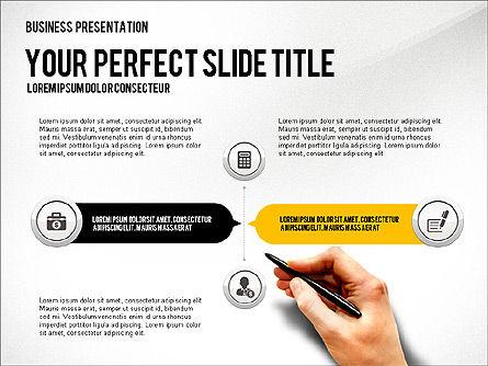 Presentation with Financial Icons, Slide 6, 03226, Presentation Templates — PoweredTemplate.com