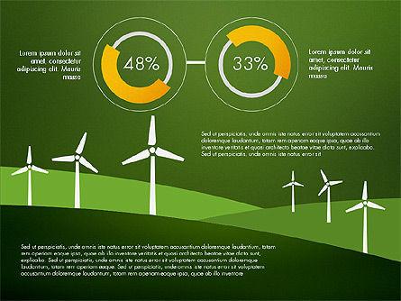 Wind Energy Presentation Template, Slide 10, 03227, Presentation Templates — PoweredTemplate.com