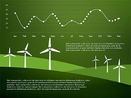 Wind Energy Presentation Template, Slide 11, 03227, Presentation Templates — PoweredTemplate.com