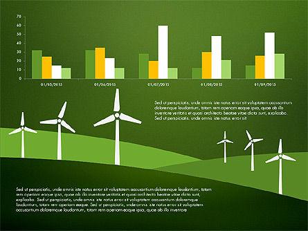 Wind Energy Presentation Template, Slide 15, 03227, Presentation Templates — PoweredTemplate.com