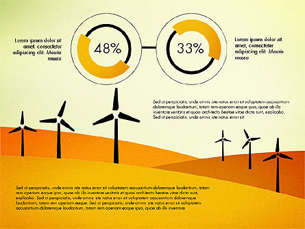 Wind Energy Presentation Template, Slide 2, 03227, Presentation Templates — PoweredTemplate.com