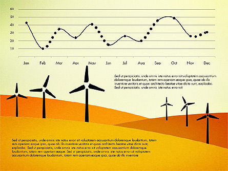 Wind Energy Presentation Template, Slide 3, 03227, Presentation Templates — PoweredTemplate.com