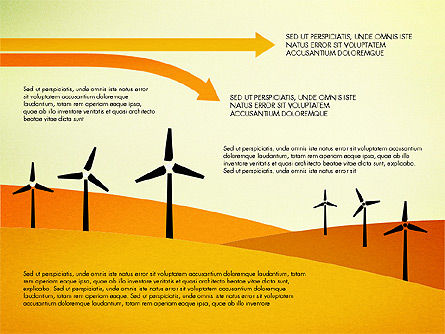 Wind Energy Presentation Template, Slide 4, 03227, Presentation Templates — PoweredTemplate.com