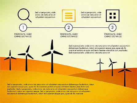 Wind Energy Presentation Template, Slide 5, 03227, Presentation Templates — PoweredTemplate.com