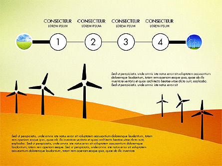 Wind Energy Presentation Template, Slide 6, 03227, Presentation Templates — PoweredTemplate.com