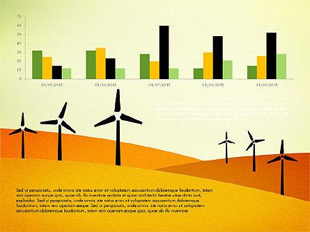 Wind Energy Presentation Template, Slide 7, 03227, Presentation Templates — PoweredTemplate.com