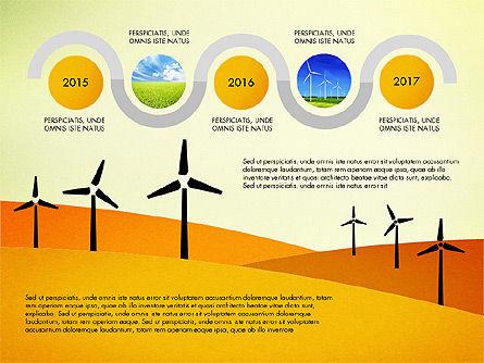 Wind Energy Presentation Template, Slide 8, 03227, Presentation Templates — PoweredTemplate.com