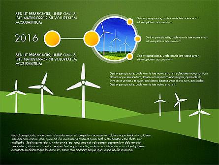 Wind Energy Presentation Template, Slide 9, 03227, Presentation Templates — PoweredTemplate.com