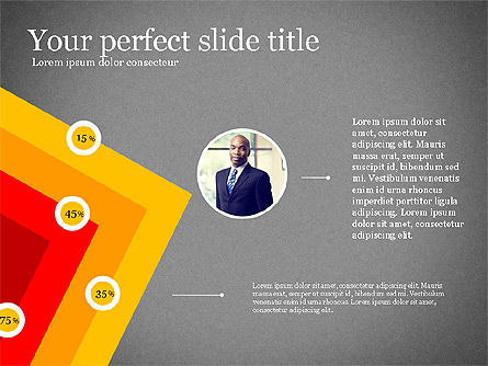 Business Team Presentation Deck, Slide 12, 03228, Shapes — PoweredTemplate.com