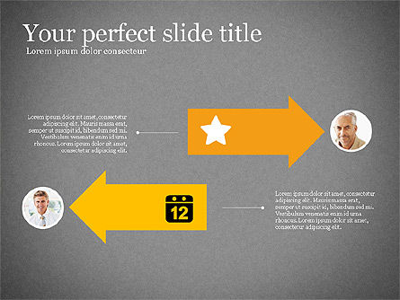 Business Team Presentation Deck, Slide 13, 03228, Shapes — PoweredTemplate.com