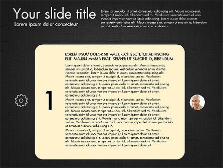 Team Roles Presentation Concept, Slide 10, 03229, Presentation Templates — PoweredTemplate.com