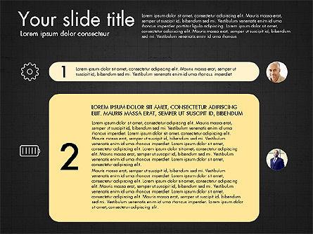 Team Roles Presentation Concept, Slide 11, 03229, Presentation Templates — PoweredTemplate.com