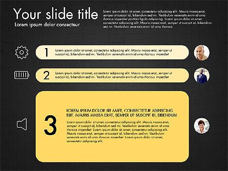 Team Roles Presentation Concept, Slide 12, 03229, Presentation Templates — PoweredTemplate.com