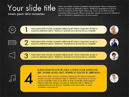 Team Roles Presentation Concept, Slide 13, 03229, Presentation Templates — PoweredTemplate.com