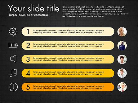 Team Roles Presentation Concept, Slide 14, 03229, Presentation Templates — PoweredTemplate.com