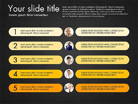 Team Roles Presentation Concept, Slide 15, 03229, Presentation Templates — PoweredTemplate.com