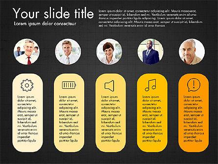 Team Roles Presentation Concept, Slide 16, 03229, Presentation Templates — PoweredTemplate.com