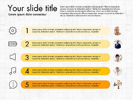 Team Roles Presentation Concept, Slide 6, 03229, Presentation Templates — PoweredTemplate.com